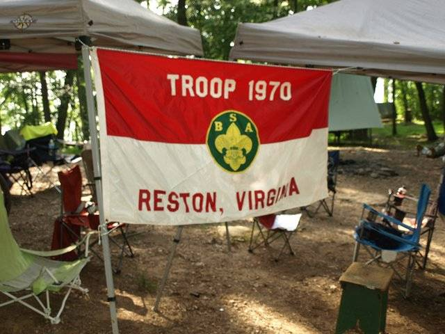 Troop 1970 Flag